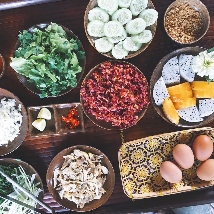 Breakfast at Mai Chau Villas