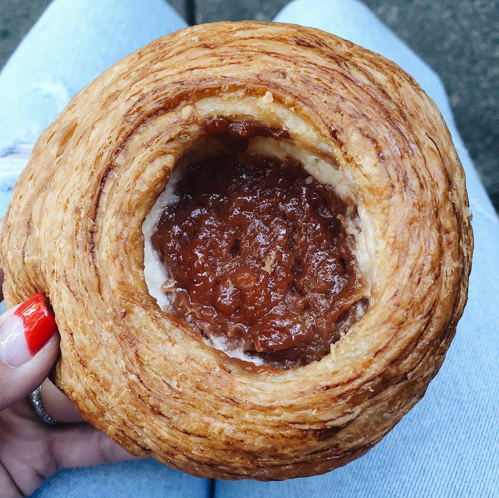 Guava pastry at Panaderia Rosetta