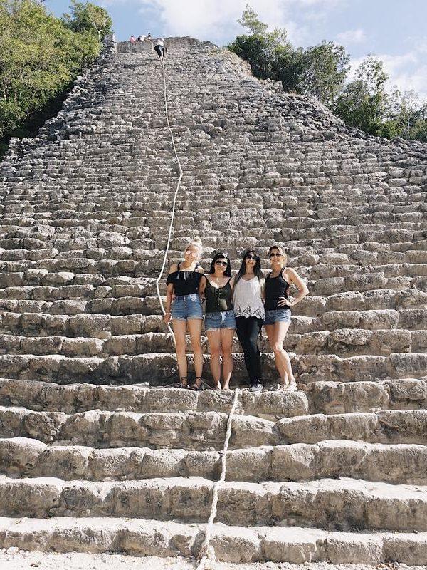 MEXICO – PUNTA LAGUNA RESERVE + COBA RUINS
