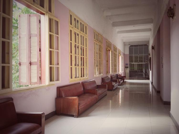 Hallway in the Vietnam National Museum