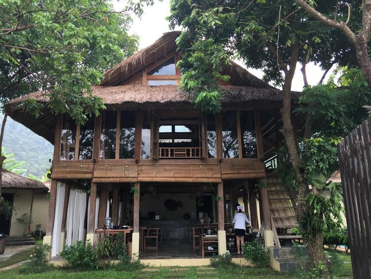 Mai Chau Villas main building