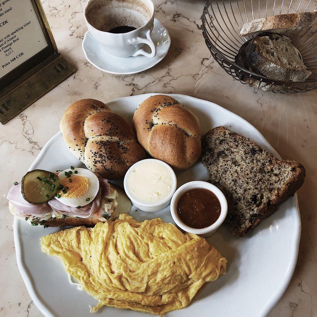 Cafe Savoy Brunch in Prague