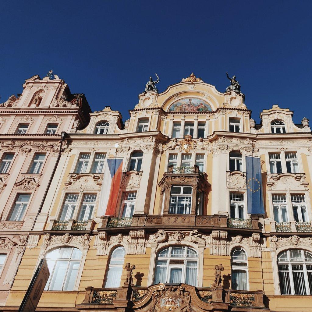 Beautiful architecture in Prague