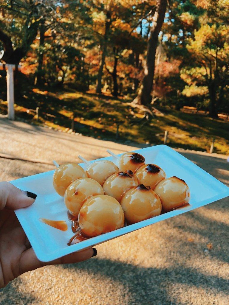 Japanese dessert and snack