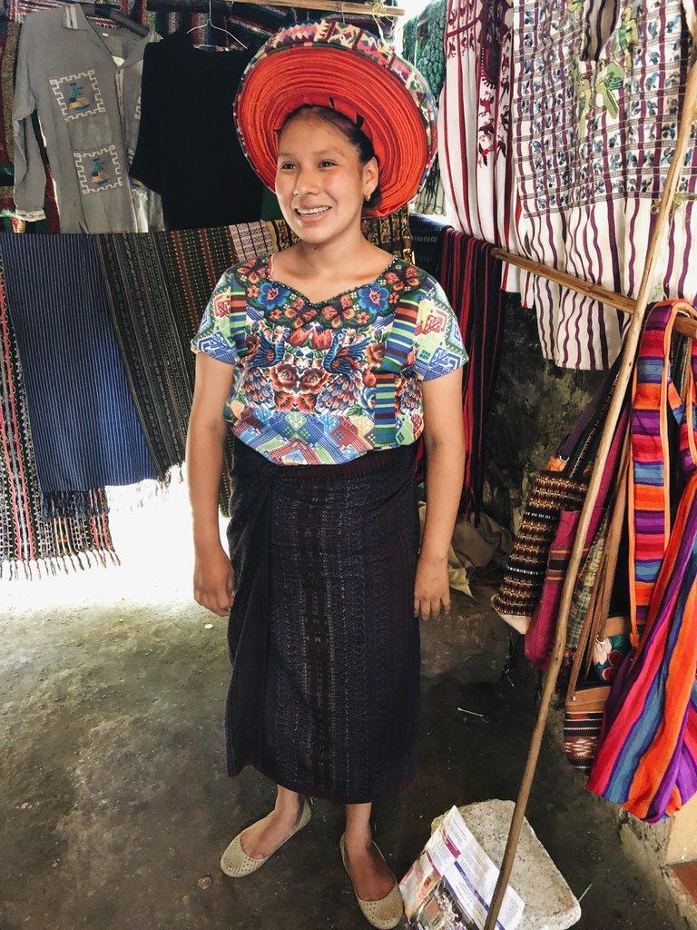 Traditional village wear in Guatemala