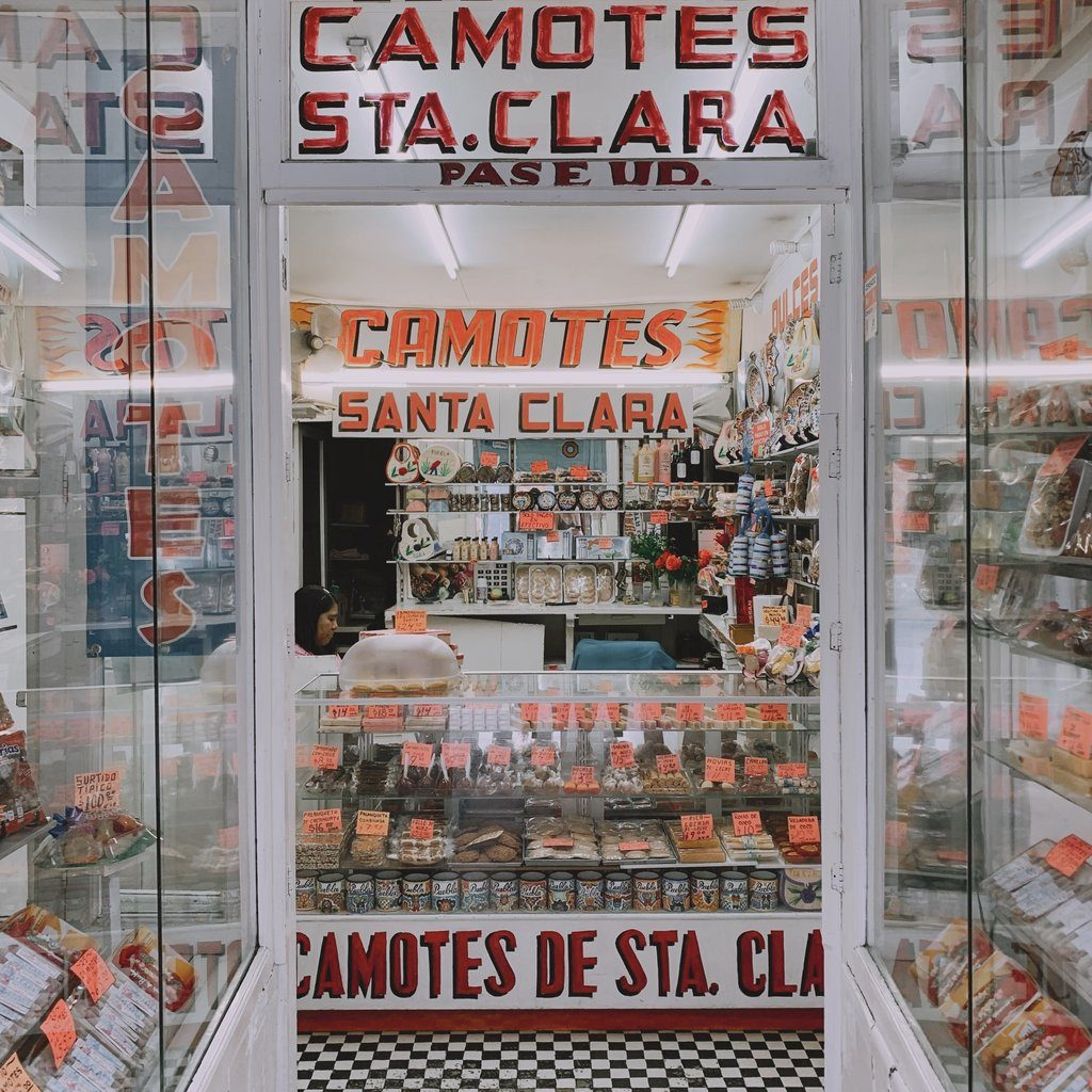 Candy Store in Puebla Mexico