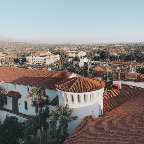 Santa Barbara Red Tile Roofs