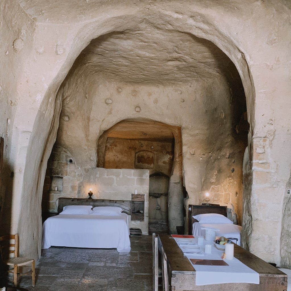 Sextantio Le Grotte della Civita Cave Room