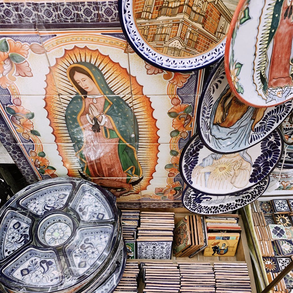 Tiles Store in Puebla Mexico